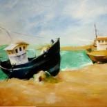 Thuyền và Biển( chép tranh)