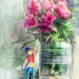 Flower Letter boy