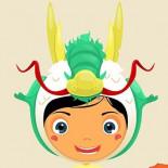cute kid in costume