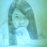 portrait of my friend