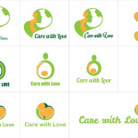 logo Care with love