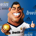 cr7 caricature
