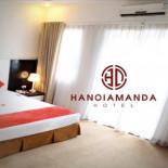 Logo & Nhận diện Khách sạn Hà Nội Amanda