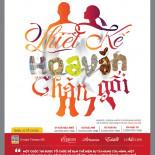 Poster cuộc thi thiết kế hoa văn