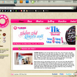 Yumme Donuts website layout