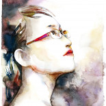 water color portrait