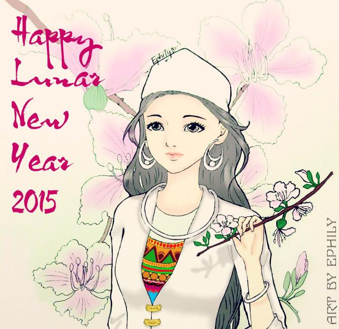 Tranh mừng năm mới