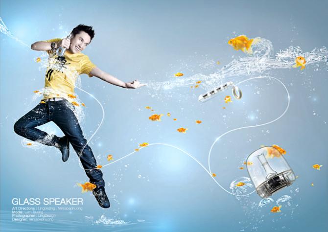 Lam Truong - Concept Glass Speaker